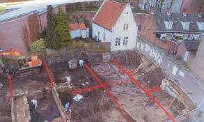 Sloop witte huis beurdsestraat bastion oranje den bosch