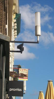 Proef met LED verlichting in de binnenstad - Bastion-Oranje, Den Bosch