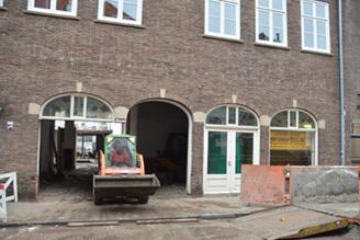 Garage Den Bosch : Verbouwing garage lathouwers in jorisstraat tot appartementen