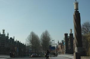 Nieuwe verlichting Wilhelminabrug - Bastion-Oranje, Den Bosch